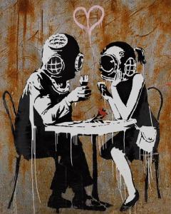 Banksy, Think-Tank, 2003