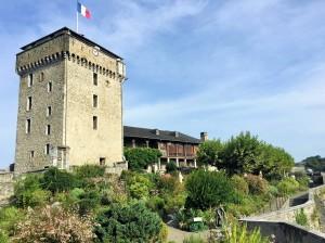 Château, vue extérieure