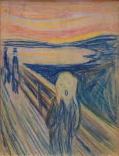 Edvard Munch, Le Cri, 1893, crayon, Munch Museet Oslo