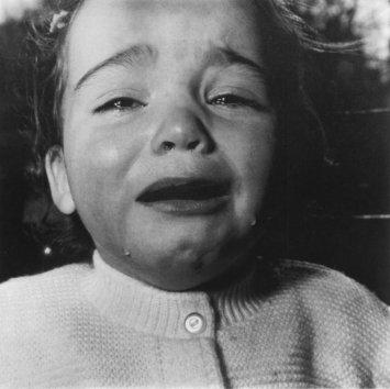 Diane Arbus, Un bébé en pleurs, New Jersey, 1967