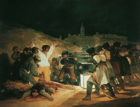 Francisco de Goya, El tres de mayo de 1808, 1817
