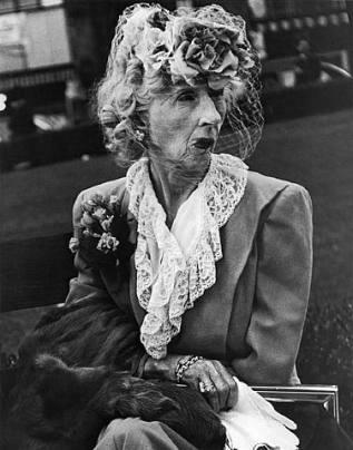 Lisette Model, Femme à la voilette, San Francisco, 1947