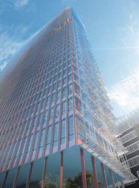 Projet la tour La Marseillaise, crédit : les Ateliers Jean Nouvel