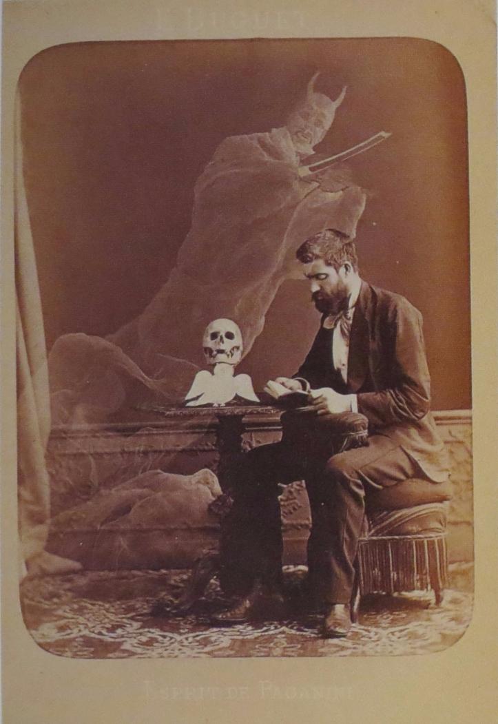 Jean Buguet, Photographie anti-spirite, Esprit de Paganini, fin juin 1875.