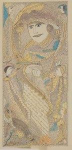 Léon Petitjean, Sans titre, 1922, collection ABCD, Montreuil
