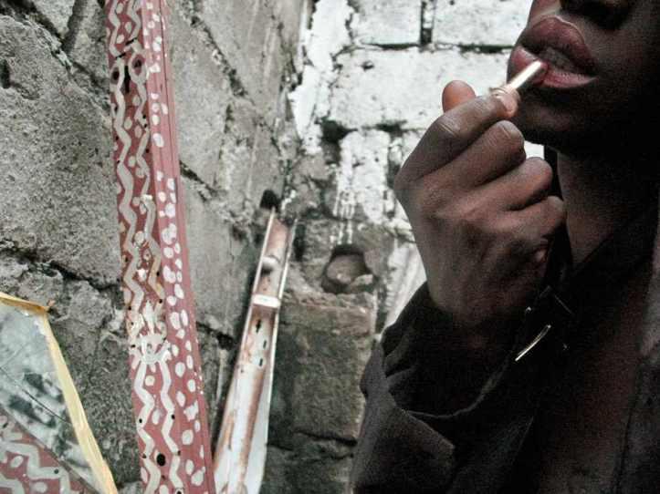Alain Polo Nzuzi, Jeune homme à la Veste