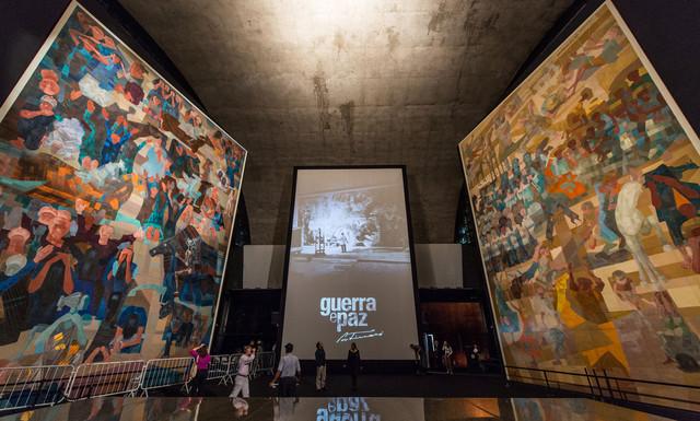 Candido Portinari, Guerre et Paix, exposés à São Paulo (mai 2012)