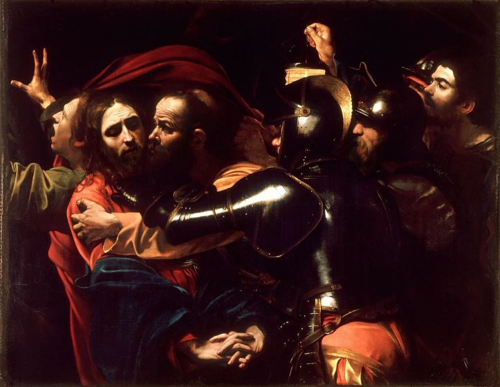 Le Caravage, L'Arrestation du Christ, 1602