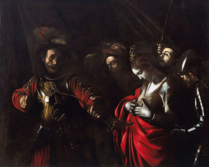 Le Caravage, Le Martyre de sainte Ursule, 1610