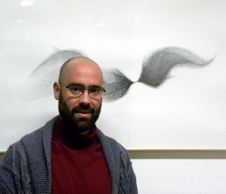 Antoine Brodin, souffleur de verre et lauréat du Prix L'Œuvre de la Fondation Ateliers d'Art de France
