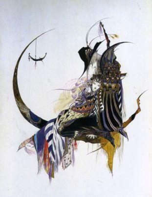 Yoshitaka Amano, oeuvre issue de l_artbook Vampire Hunter D (2000)