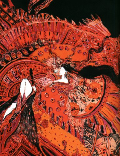 Yoshitaka Amano, oeuvre issue du recueil Tale of Genji (1997)