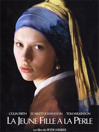 Peter Webber - La jeune fille à la perle affiche