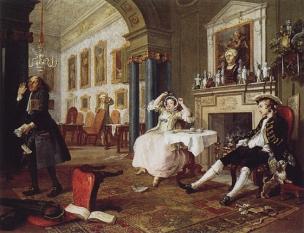 William Hogarth - Le Mariage à la mode