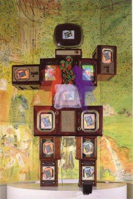 Nam June Paik, Olympe de Gouges, La fée électronique, 1989.