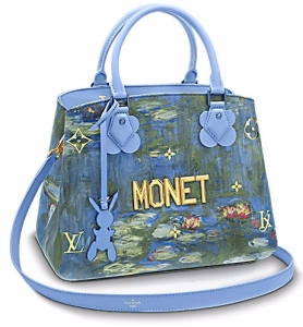 Louis Vuitton et Jeff Koons, sac à main Montaigne,