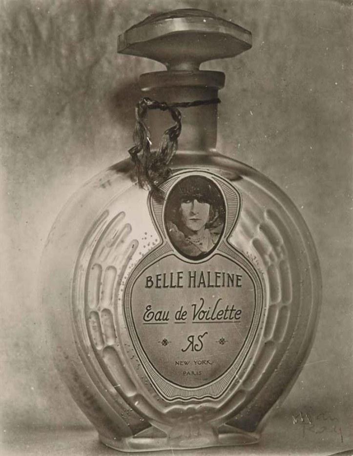 Marcel Duchamp, Ready-made aidé, Belle Haleine, eau de Voilette, 1921