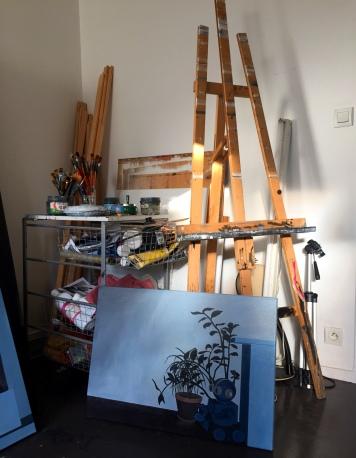 Dans l'atelier de Linda Roux