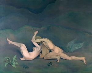 Félix Vallotton, Homme et femme, 1913, huile sur toile.