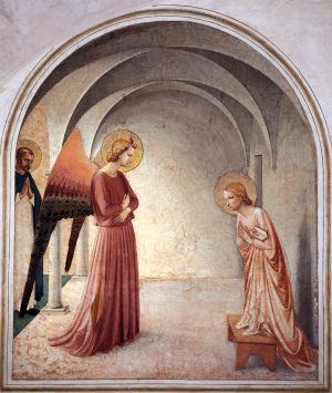 Fra Angelico - L'Annonciation