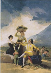 Francisco de Goya, Les Vendanges, 1786
