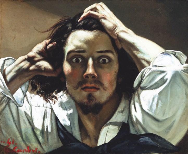 Gustave Courbet, Autoportrait Le Désespéré, 1844-45