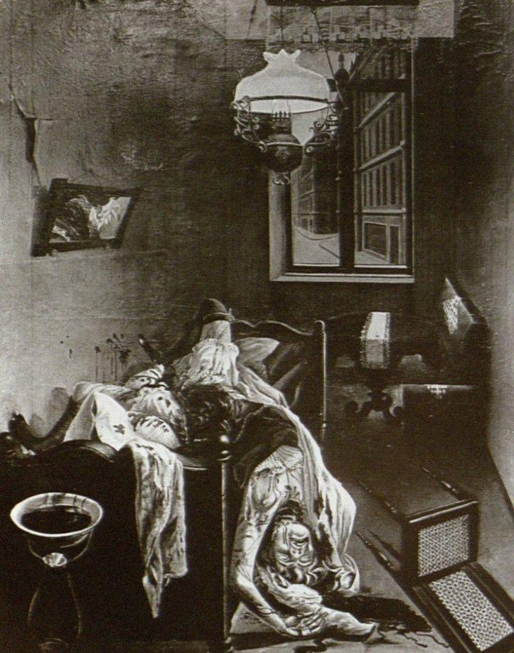 "Otto dix, Lustmord (""Crime sexuel""), vers 1920"