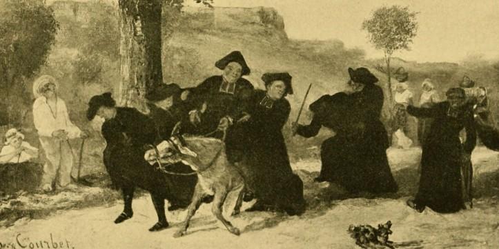 Gustave Courbet, Le retour de la Conference