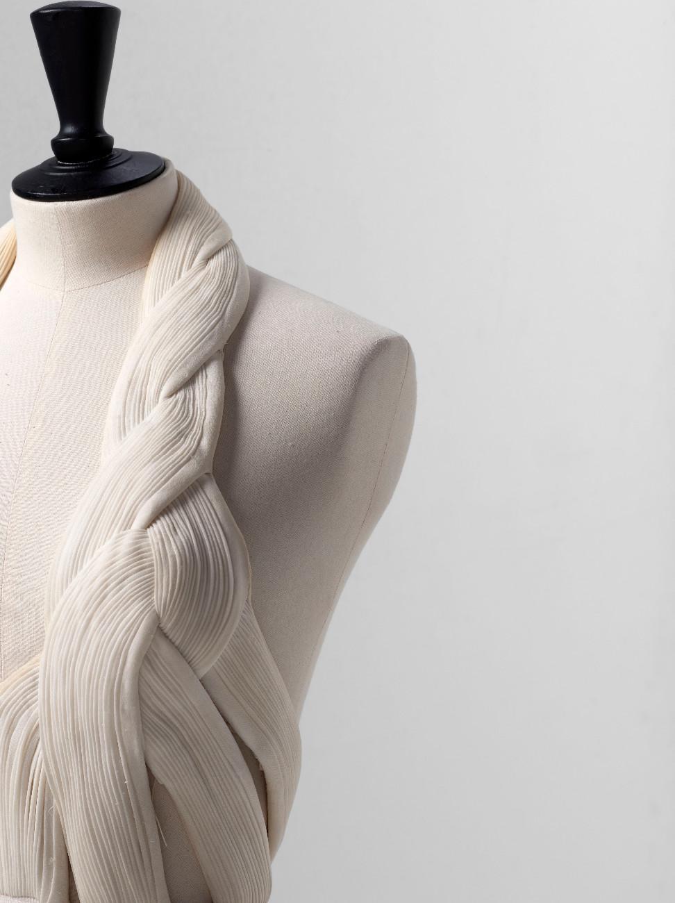 Robe en jersey de soie