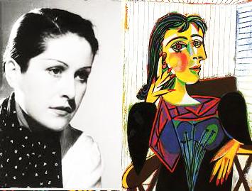Dora Maar, célèbre muse de Picasso et son portrait, 1937