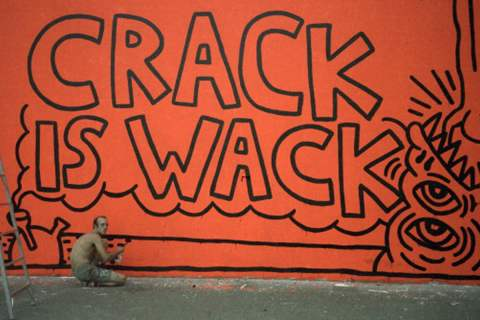 Keith Haring - Crack is wack