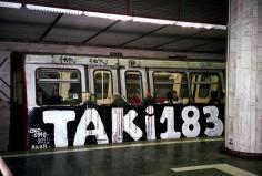 Taki183 - Graffiti du métro