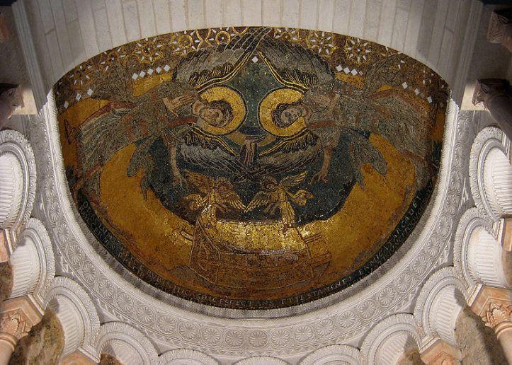 Mosaïque de Saint Germigny des Prés