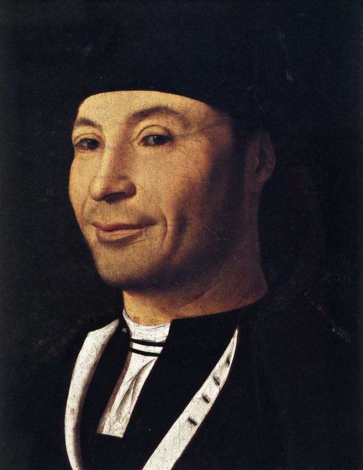 L'homme qui rit Antonello da Messina