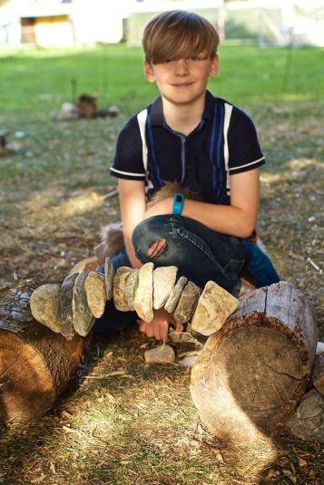 Œuvres des enfants réalisées en partenariat avec James Brunt ©James Brunt